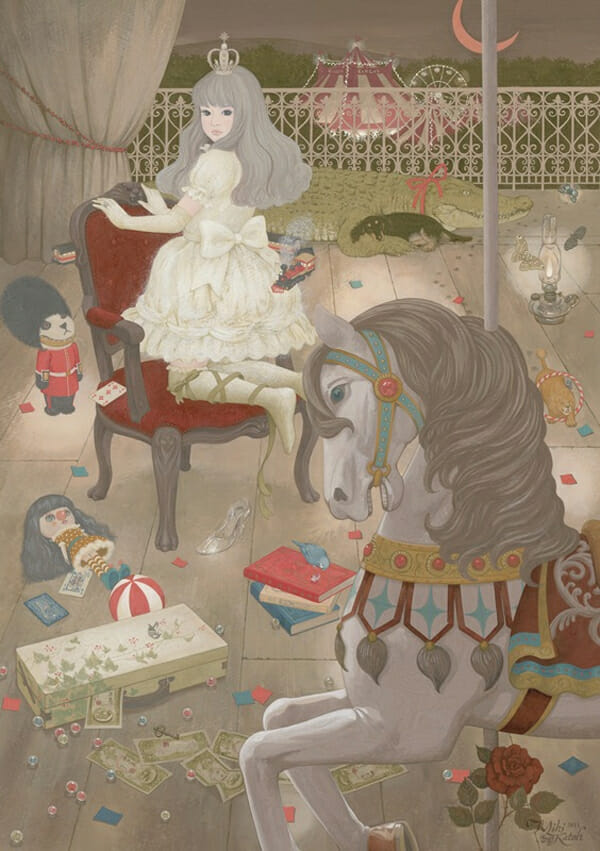 Miki Kato @ Jiro Miura Gallery via beautiful.bizarre