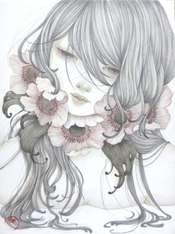 Yuka Sakuma @ Jiro Miura Gallery - via beautiful.bizarre