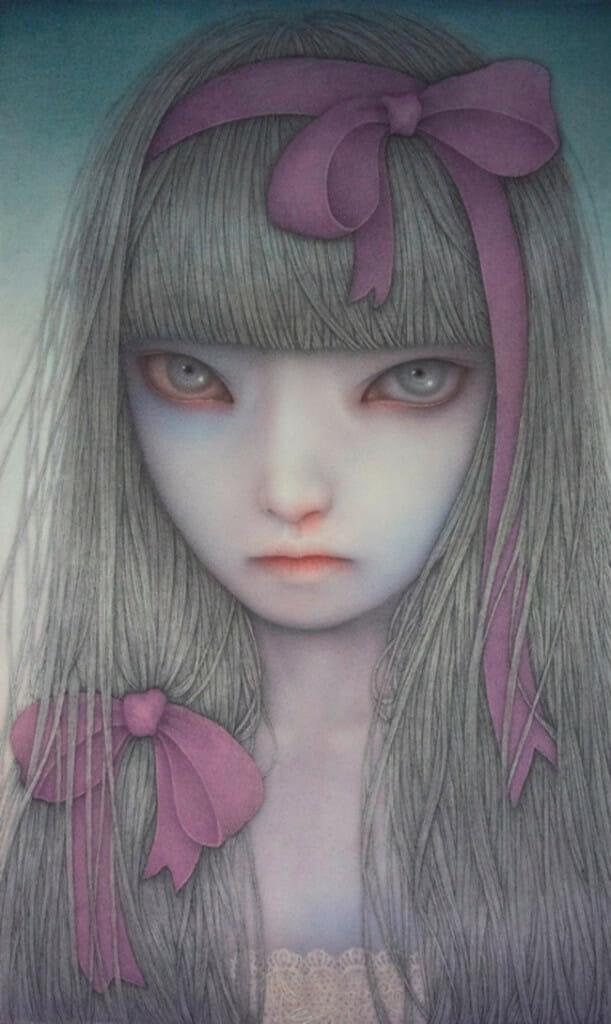 Atsuko Goto - ephemeral ~ Territory of girls 「ephemeral~少女たちの領域」 @ Jiro Miura Gallery - via beautiful.bizarre