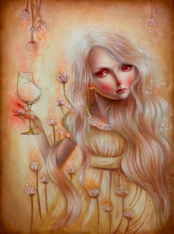 Ania Tomicka - ephemeral ~ Territory of girls 「ephemeral~少女たちの領域」 @ Jiro Miura Gallery - via beautiful.bizarre