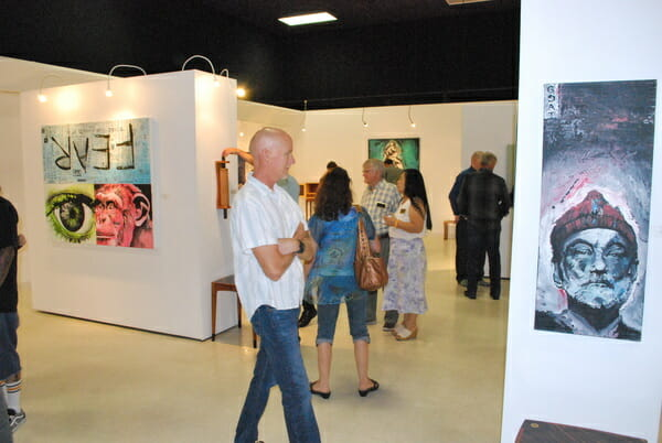 patrick fisher, gamut, blackboard gallery