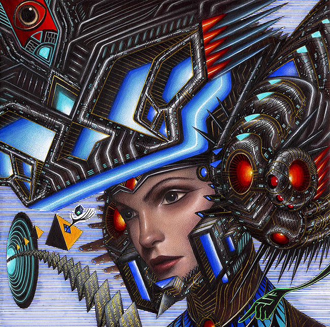 Daily Disruption by Erik Siador - LAX/LHR - Thinkspace x StolenSpace Gallery (London)