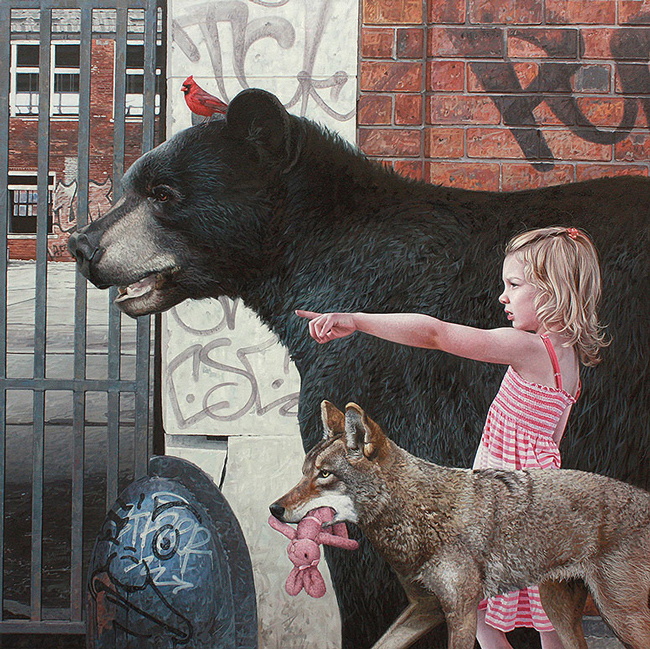 Quest by Kevin Peterson - LAX/LHR - Thinkspace x StolenSpace Gallery (London)