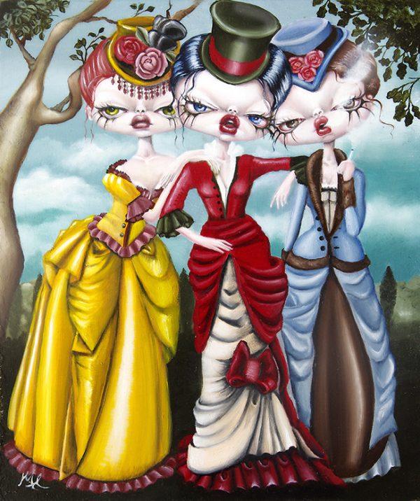 Laudanum by Marie Larkin - Victoriana @ Alexi Era Gallery - via beautiful.bizarre