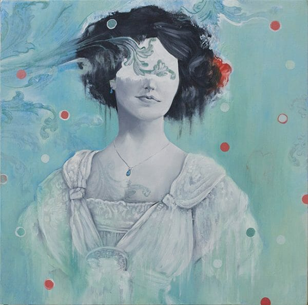 Blue Victorian by Bryan Holland - Victoriana @ Alexi Era Gallery - via beautiful.bizarre