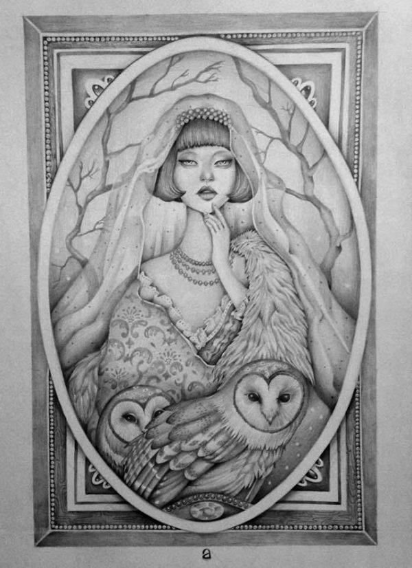 Minerva by Anka Lavriv - Victoriana @ Alexi Era Gallery, Mascoutah, IL - via beautiful.bizarre