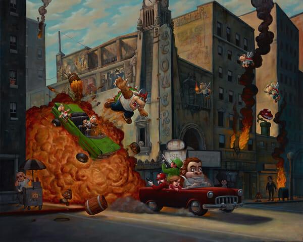 Bob Dob - Barrels of Fun @ Baker Hesseldenz - via beautiful.bizarre
