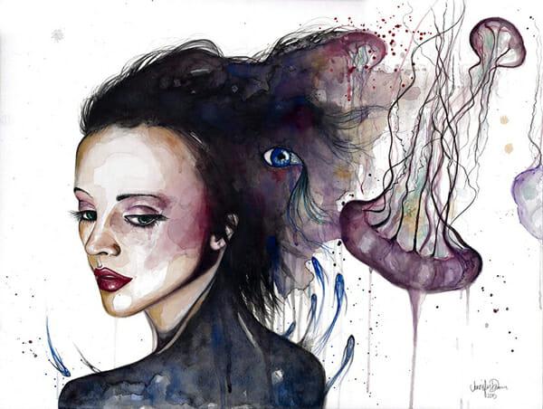 Jen Duran - Peculiar @ Baker Hesseldenz via beautiful.bizarre