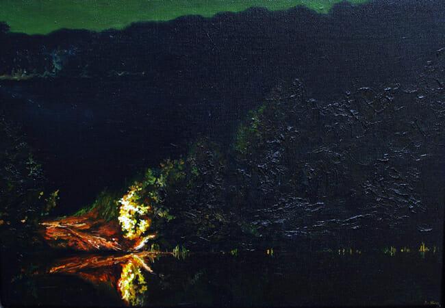 Ben Sheers - Edge of Night | Night @ 19Karen Contemporary Artspace - via beautiful.bizarre