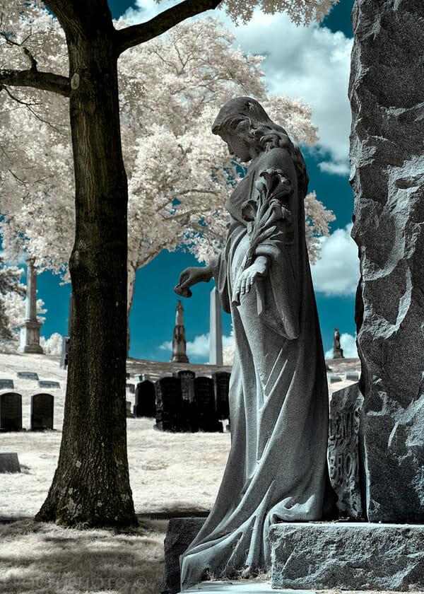 bob vishnesky, cemetery photography, photogasm