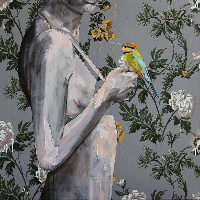 Jessica Watts - Debutante | Debutante @ 19Karen Contemporary Artspace - via beautiful.bizarre