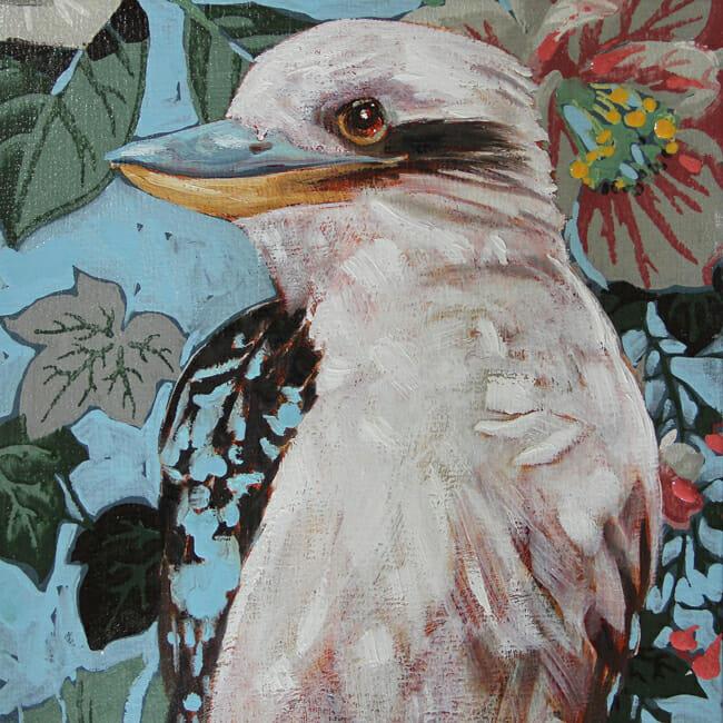 Jessica Watts - The Earth Laughs in Flowers | Debutante @ 19Karen Contemporary Artspace - via beautiful.bizarre