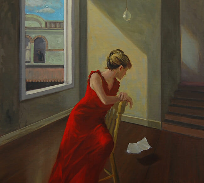 Jessica Watts - The Note | In Search of Light @ 19Karen Contemporary Artspace - via beautiful.bizarre