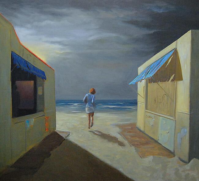 Jessica Watts - Beach Vendors Out of Season | In Search of Light @ 19Karen Contemporary Artspace - via beautiful.bizarre