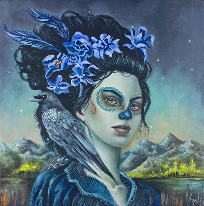 I'm Waiting for the Twilight by Ingrid Tusell @ Alexi Era Gallery - beautiful.bizarre