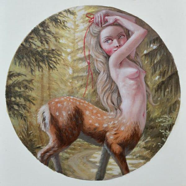 Jana Brike Painting