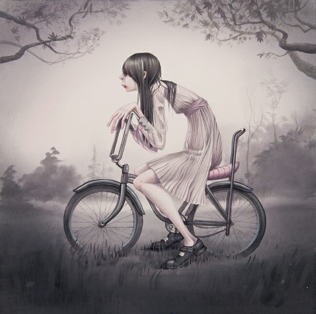 """Chopper"" by Annie Owens @ Antler Gallery PDX"