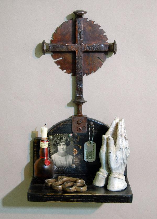 mark waldman, sweatbox studios, assemblage, assemblage art