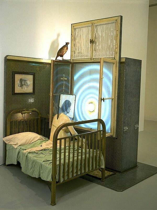 Edward Kienholz art installation