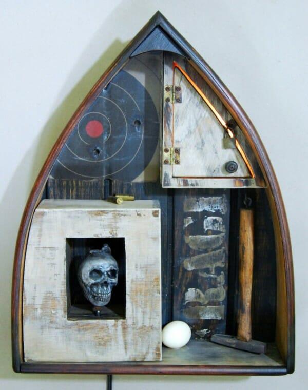 sweatbox studios, mark waldman, assemblage art, assemblage