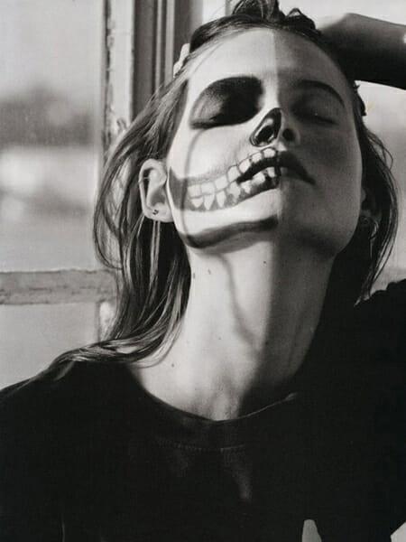matt jones, dia de los muertos photography, sugar skills, face paint