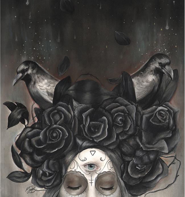 Into Oblivion by Megan Bucerre @ Alexi Era Gallery - beautiful.bizarre
