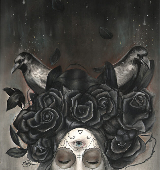 Into Oblivion by Megan Bucerre @ Alexi Era Gallery - beautiful.bizarre