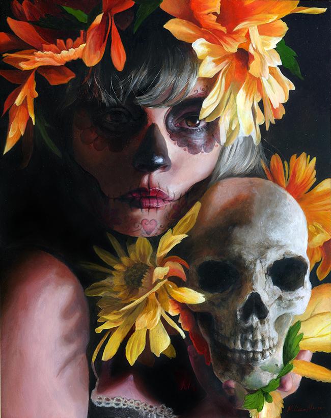 Gilded Bygone by Melissa Morgan @ Alexi Era Gallery - beautiful.bizzare