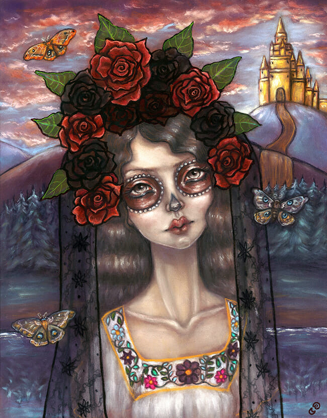 The Girl From Eldorado by Tammy Mae Moon @ Alexi Era Gallery - beautiful.bizarre