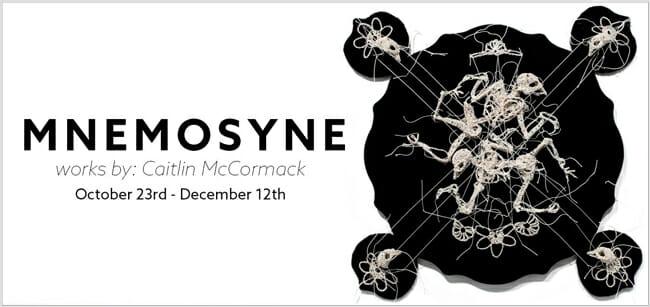 Caitlin McCormack 'Mnemosyne' @ Distinction Gallery - beautiful.bizarre
