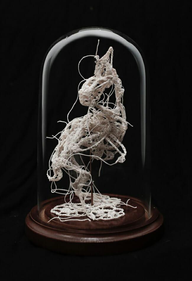 Sententia by Caitlin McCormack @ Paradigm Gallery - via beautiful.bizarre