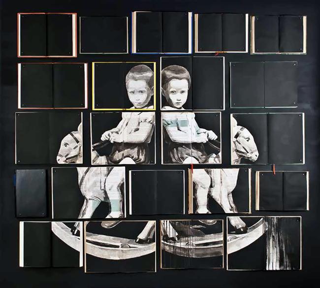 'Exercisi Di Memoria' by Ekaterina Panikanova - Second Sight @ Booth Gallery NYC - via beautiful.bizarre