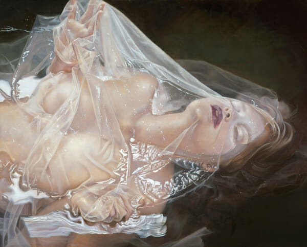 'The Reveal' by Kari-Lise Alexander - Prints on Wood Show @ Distinction Gallery, Escondido - via beautiful.bizarre