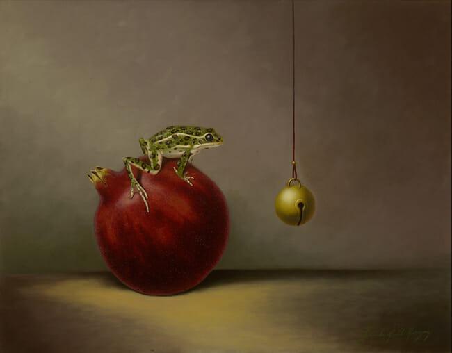 'Checking The Ball' by Linda Herzog - Prints on Wood Show @ Distinction Gallery, Escondido - via beautiful.bizarre