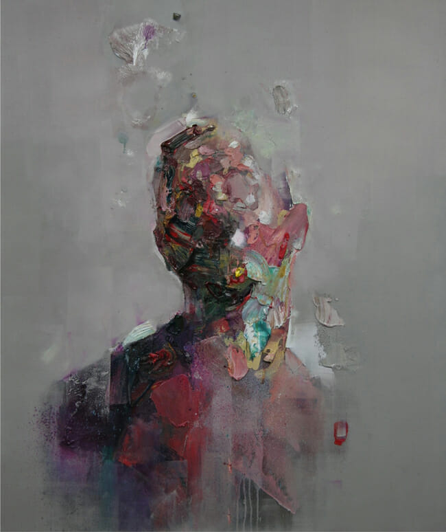 'Untitled' by Ryan Hewett - Second Sight @ Booth Gallery NYC - via beautiful.bizarre