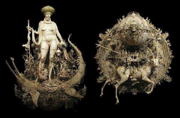 Kris-Kuksi_Triumph-and-Capricorn-Rising_beinart_collective_beautifulbizarre