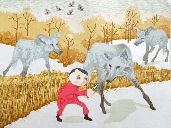 """Wolves"" by Nicholas Spohrer"
