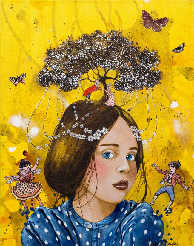 'Celebration' by Virginie Mazureau @ Arthatch / Distinction Galery, Escondido - via beautiful.bizarre