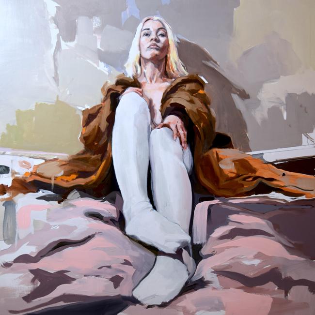 'Lex in Fur' by Jason Avery - Smashing Into 2016 Smashing Into 2016 @ Smash Gallery + LA Art Show via beautiful.bizarre