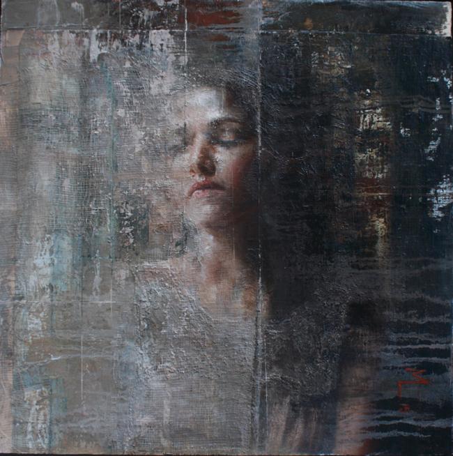 'Silence' by Mara Light - Smashing Into 2016 Smashing Into 2016 @ Smash Gallery + LA Art Show via beautiful.bizarre