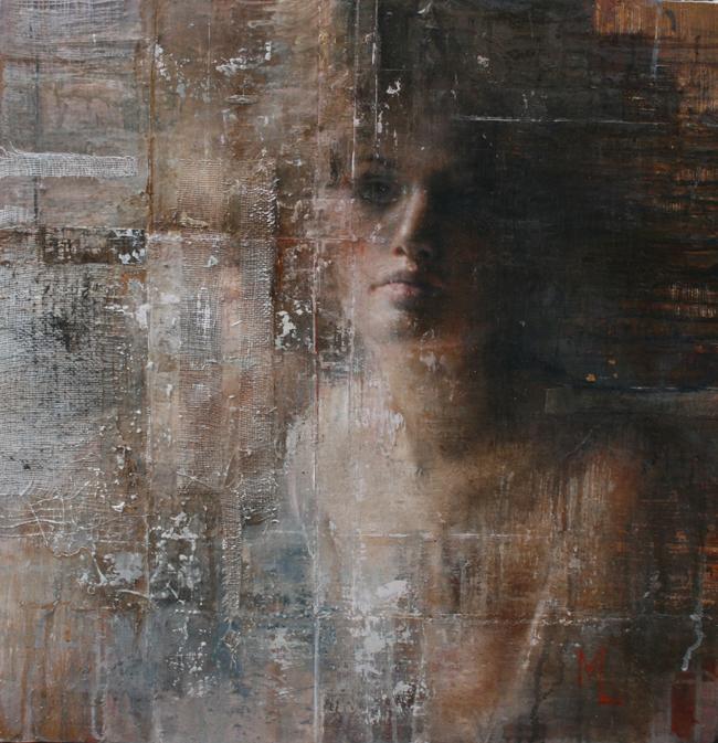 'Layers' by Mara Light - Smashing Into 2016 Smashing Into 2016 @ Smash Gallery + LA Art Show via beautiful.bizarre