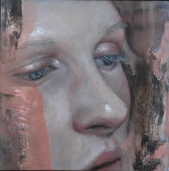 'Blush' by Meredith Marsone - Smashing Into 2016 Smashing Into 2016 @ Smash Gallery + LA Art Show via beautiful.bizarre