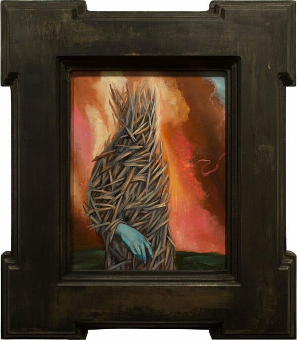 'Cocoon (Intern)' by Paul Romano - A part of his solo exhibition 'Interim' at Paradigm Gallery + Studio (Philadelphia) - via beautiful.bizarre