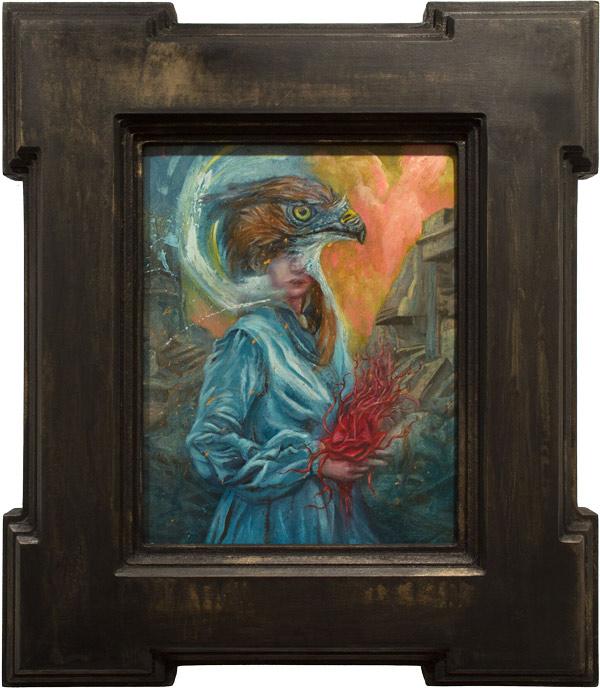 'Intercessor' by Paul Romano - A part of his solo exhibition 'Interim' at Paradigm Gallery + Studio (Philadelphia) - via beautiful.bizarre