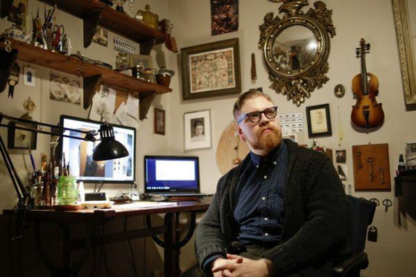 Inside Robert Kraiza's Studio - via beautiful.bizarre