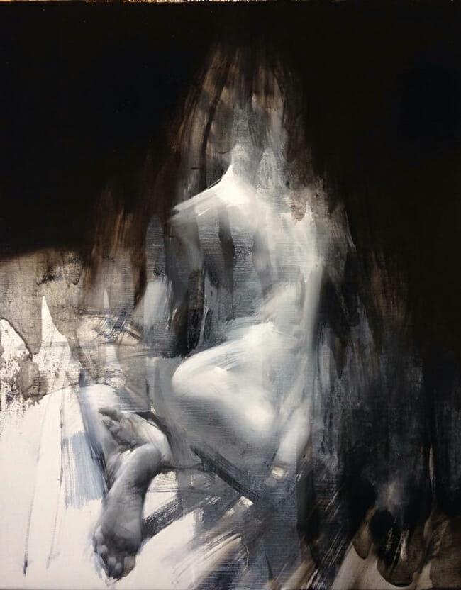 Allegro No. 15.1 by Zin Lim - Smash Gallery @ LA Art Show 2016 via Beautiful Bizarre