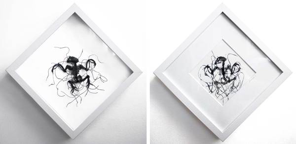 Caitlin McCormack, 'Broken Eggs' and 'Broken Eyes' @ Haven Gallery - via beautiful.bizarre