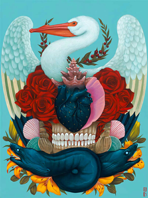 Gustavo Rimada, 'Madre Nuestra' @ Haven Gallery, Long Island, New York - via beautiful bizarre
