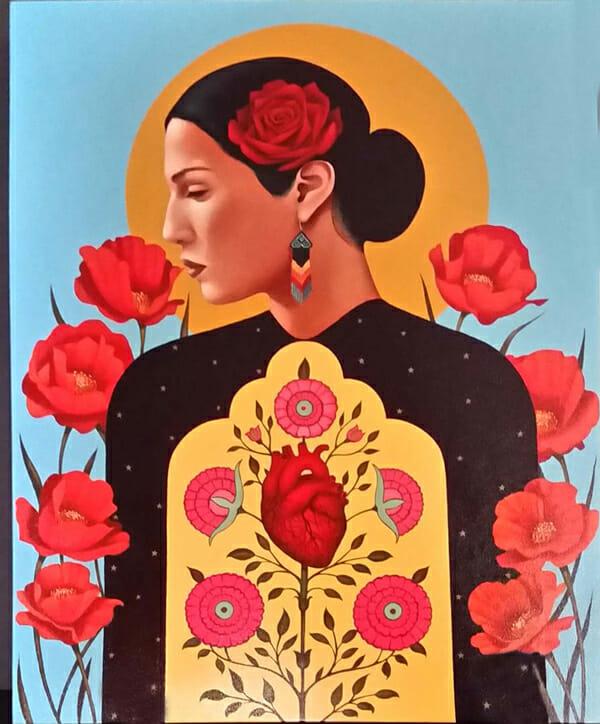 Gustavo Rimada, Mother Of The Land @ Haven Gallery, Long Island, NY - via beautiful.bizarre