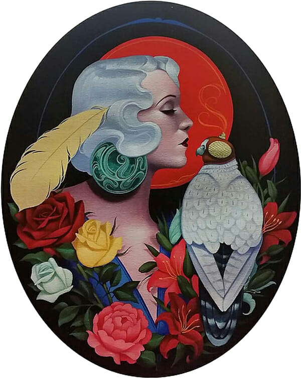 Gustavo Rimada, 'The Falconer' @ Haven Gallery - via beautiful.bizarre